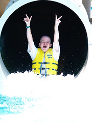 Splashdown!  YAC 2010